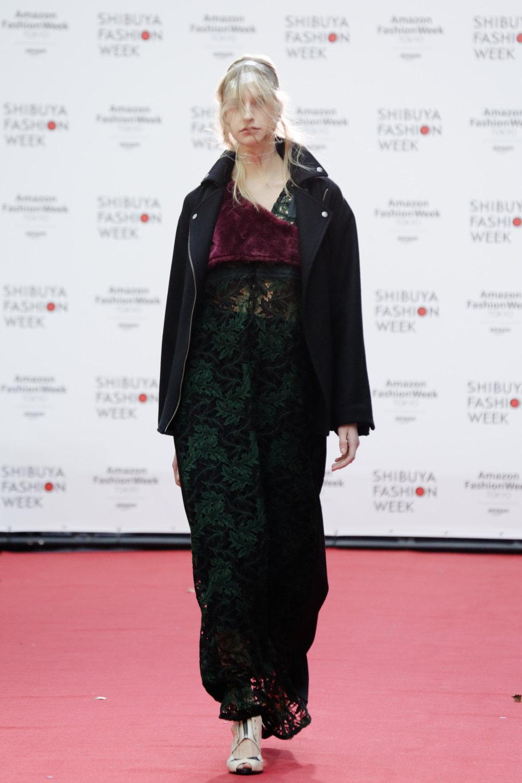 Shiroma时装系列深蓝色和芥末色蕾丝或者带有气球袖的勃艮第缎面-19.jpg