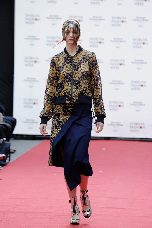 Shiroma时装系列深蓝色和芥末色蕾丝或者带有气球袖的勃艮第缎面-28.jpg