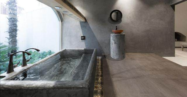 世界各地的混凝土風格的浴室,简约清新还時尚-9.jpg