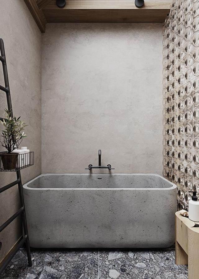 世界各地的混凝土風格的浴室,简约清新还時尚-15.jpg