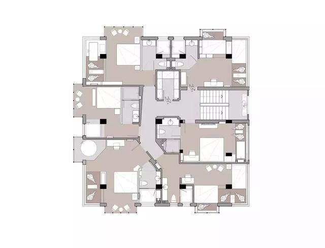 极简原木风,值得回味的民宿空间 | 柒金設計-24.jpg