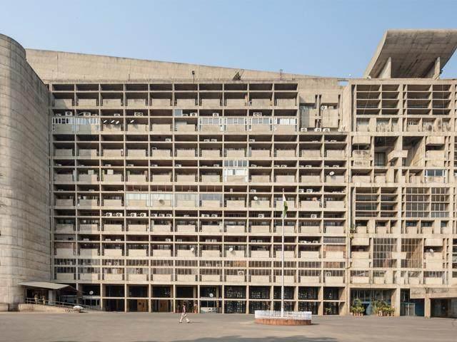 柯布西耶光辉城市的失败样板。I 昌迪加尔·行政首府-12.jpg