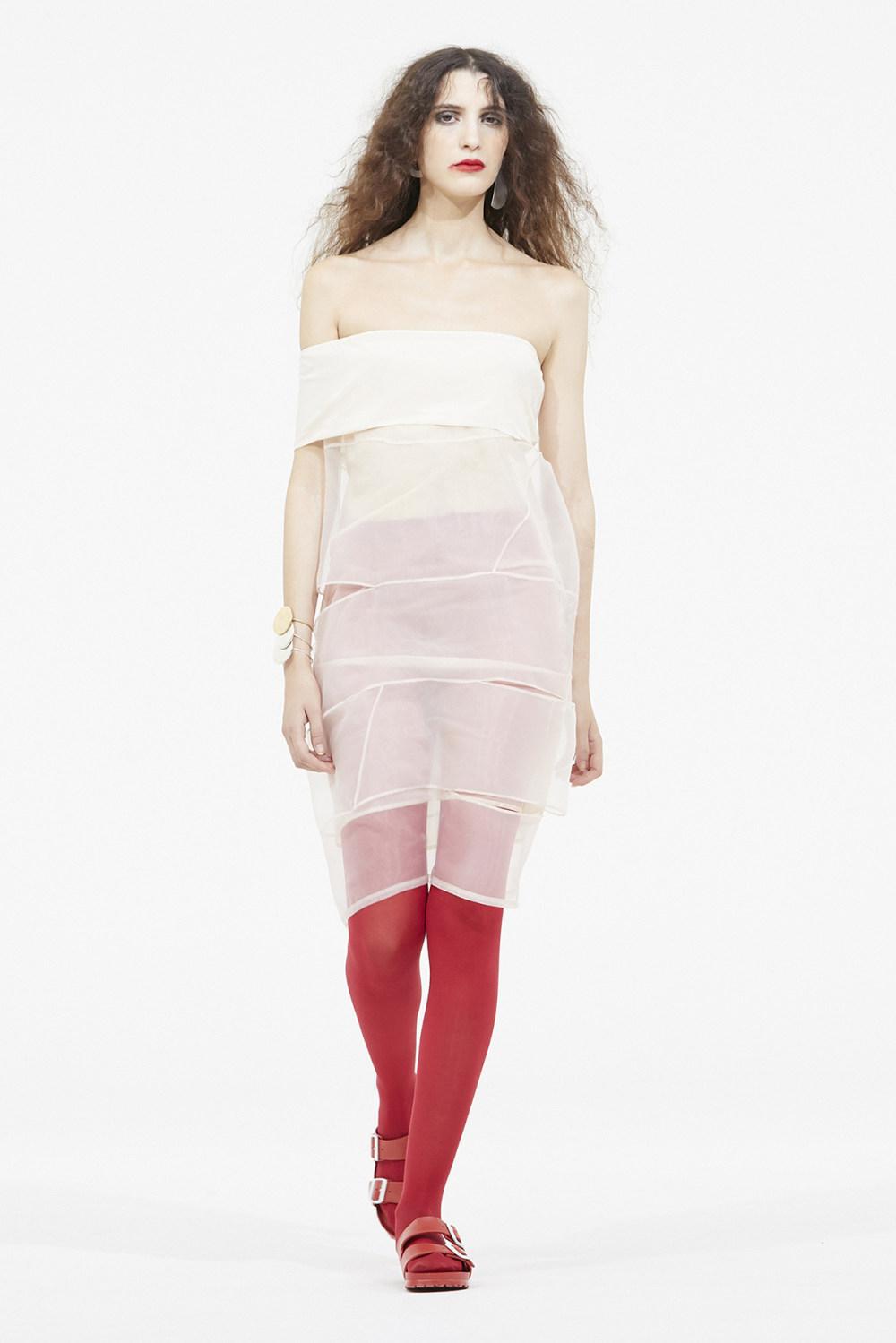 Nicolas Andreas Taralis时装系列技术织物矩形条纹被缝合在一起-8.jpg