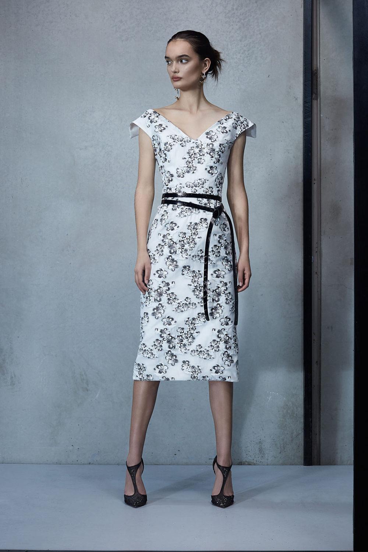 Maticevski时装系列无袖地板长度荷叶边紫红色礼服或棕色连衣裙-40.jpg