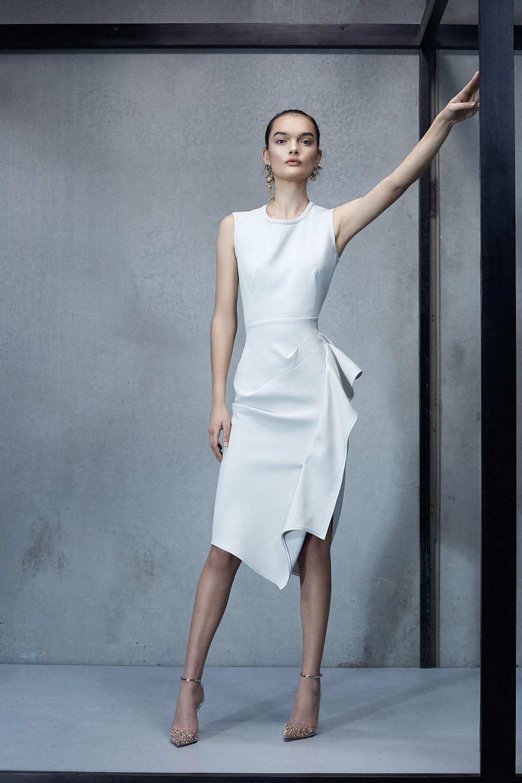 Maticevski时装系列无袖地板长度荷叶边紫红色礼服或棕色连衣裙-42.jpg