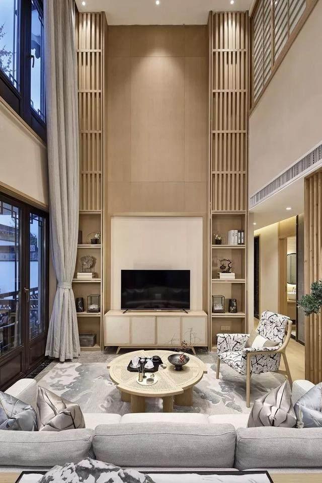 417㎡日式別墅空间样板间設計方案,简洁而又淡雅   华墨国际設計-1.jpg