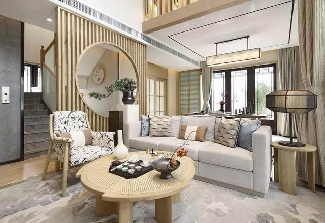 417㎡日式別墅空间样板间設計方案,简洁而又淡雅   华墨国际設計-3.jpg