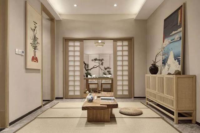 417㎡日式別墅空间样板间設計方案,简洁而又淡雅   华墨国际設計-7.jpg
