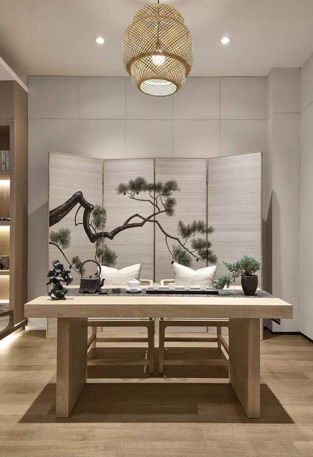 417㎡日式別墅空间样板间設計方案,简洁而又淡雅   华墨国际設計-8.jpg