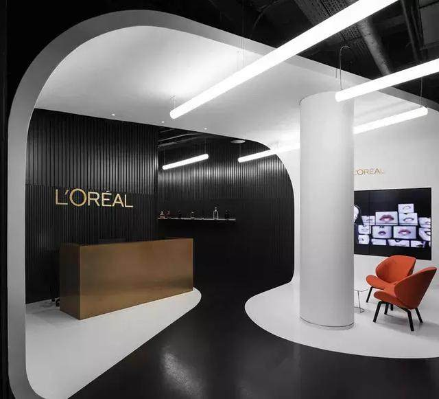 時尚剧情空间,极致优雅!|  L'OREAL欧莱雅莫斯科办公設計