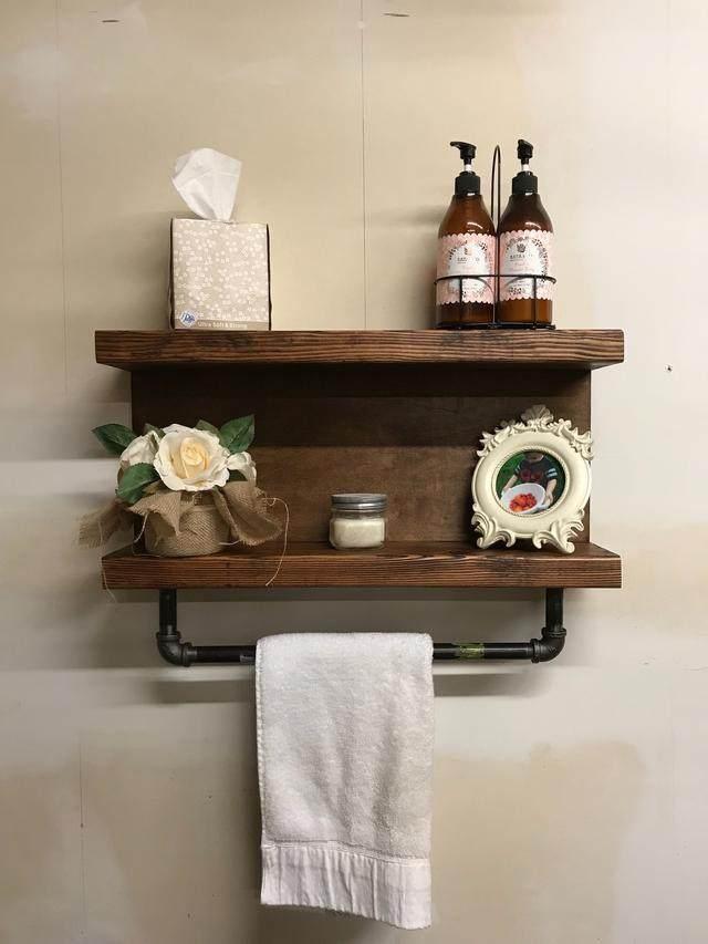 15个很棒的浴室毛巾储藏创意,每一个都風格独特-13.jpg