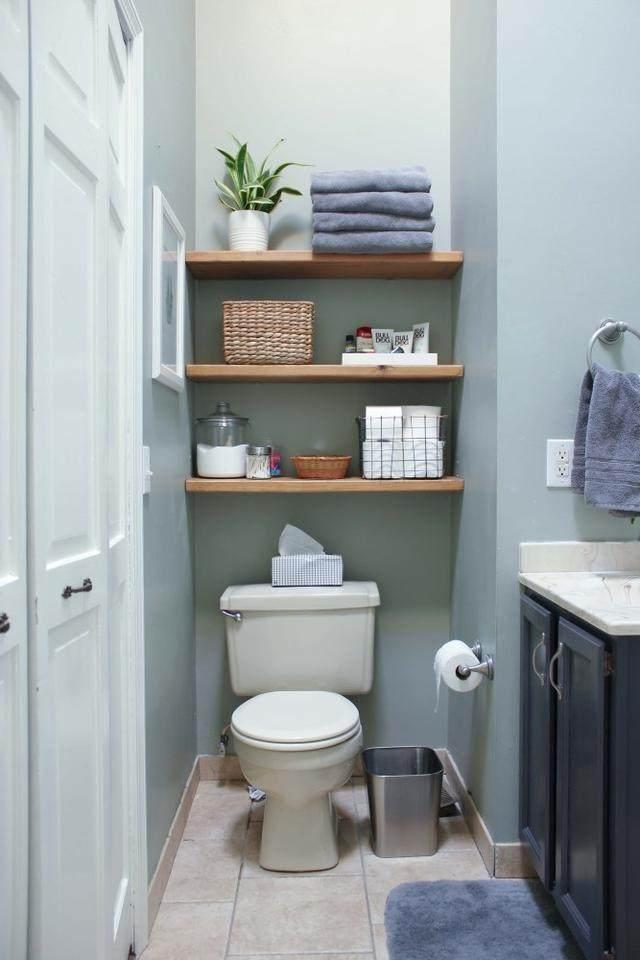 15个很棒的浴室毛巾储藏创意,每一个都風格独特-12.jpg