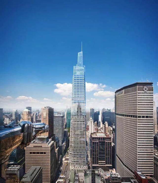高427米!曼哈顿中城最高办公塔楼封顶-3.jpg