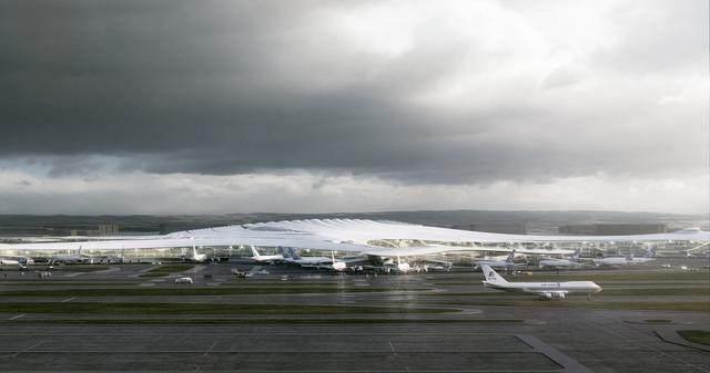 """亚布力中国企业家论坛会议中心最新施工进展,""""雪山""""轮廓初现-13.jpg"""