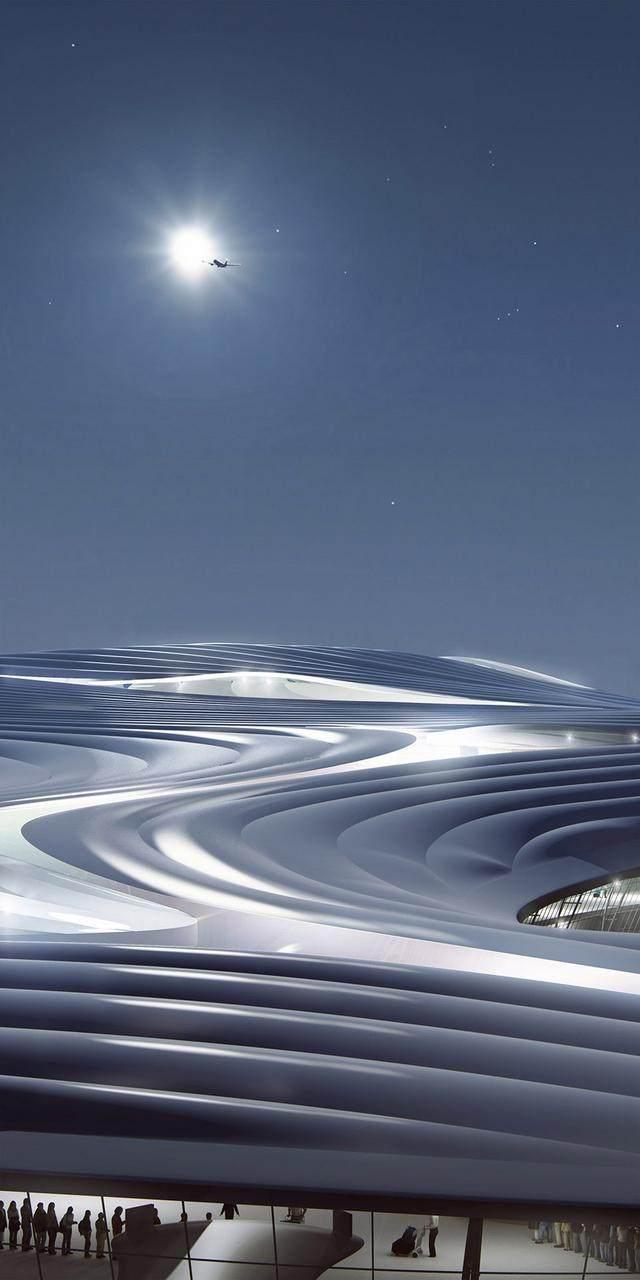 """亚布力中国企业家论坛会议中心最新施工进展,""""雪山""""轮廓初现-18.jpg"""