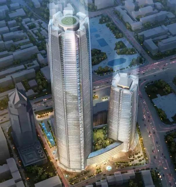太原第一高楼——太原国海广场将开建,中建七局中标施工工程-6.jpg