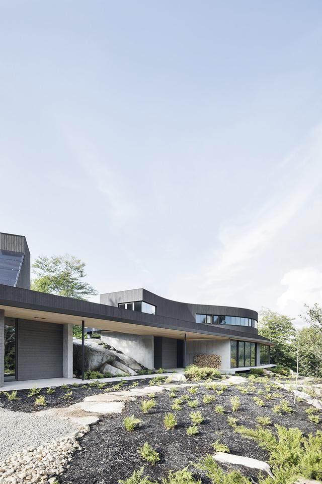「設計」:巨石上的生态住宅空间-加拿大-1.jpg
