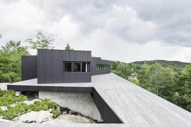 「設計」:巨石上的生态住宅空间-加拿大-6.jpg
