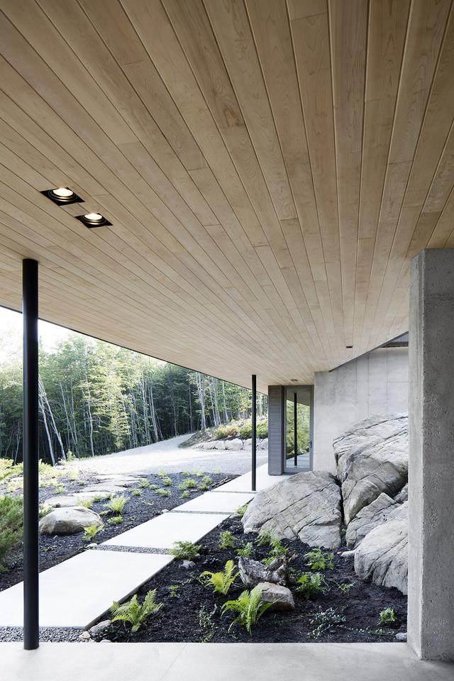 「設計」:巨石上的生态住宅空间-加拿大-9.jpg