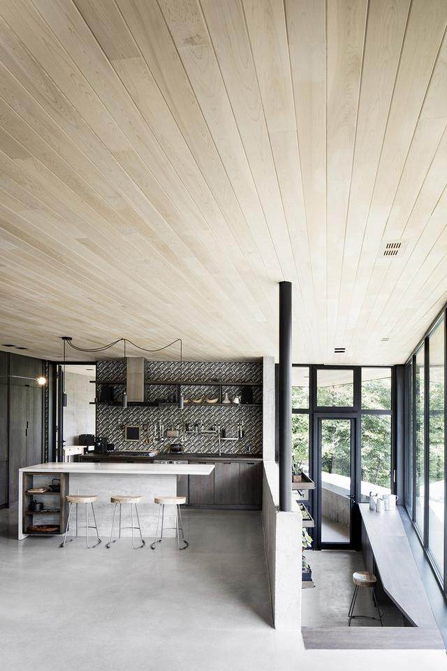 「設計」:巨石上的生态住宅空间-加拿大-10.jpg