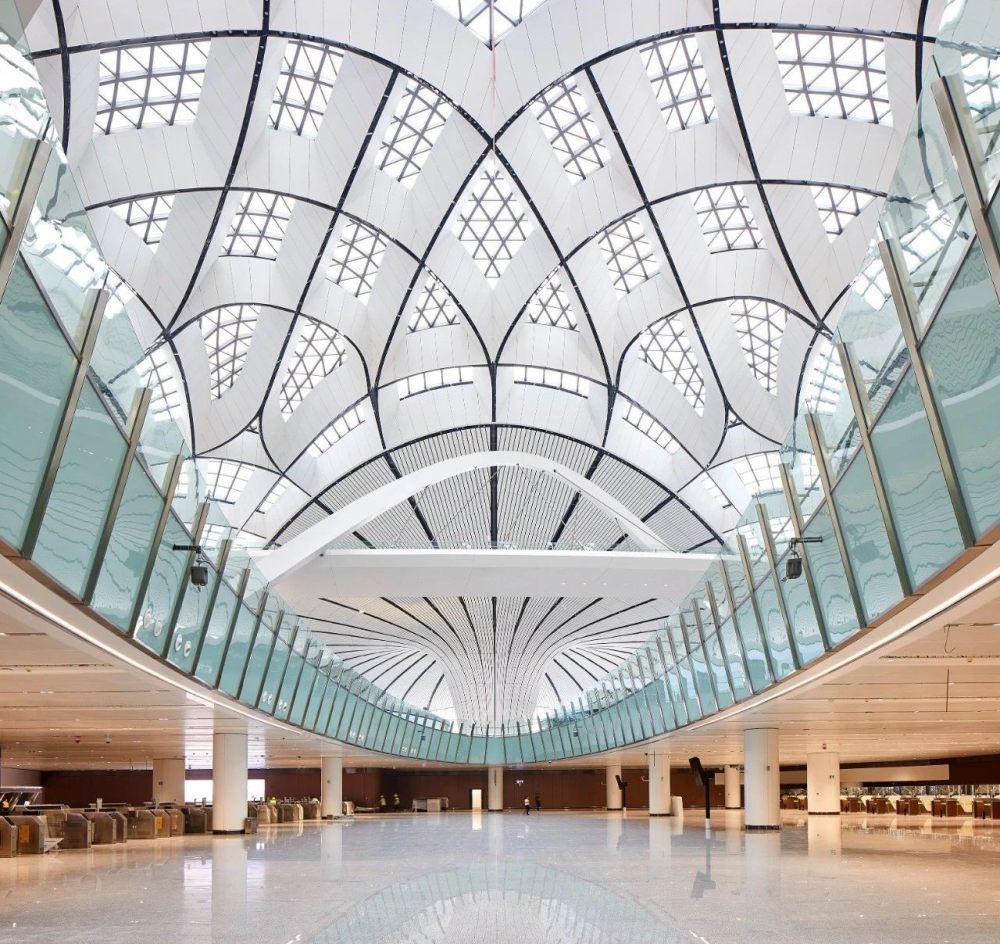 超魔幻的北京大兴国际机场 | 实景图+平面图 | 45P_超魔幻的北京大兴国际机场34.jpg