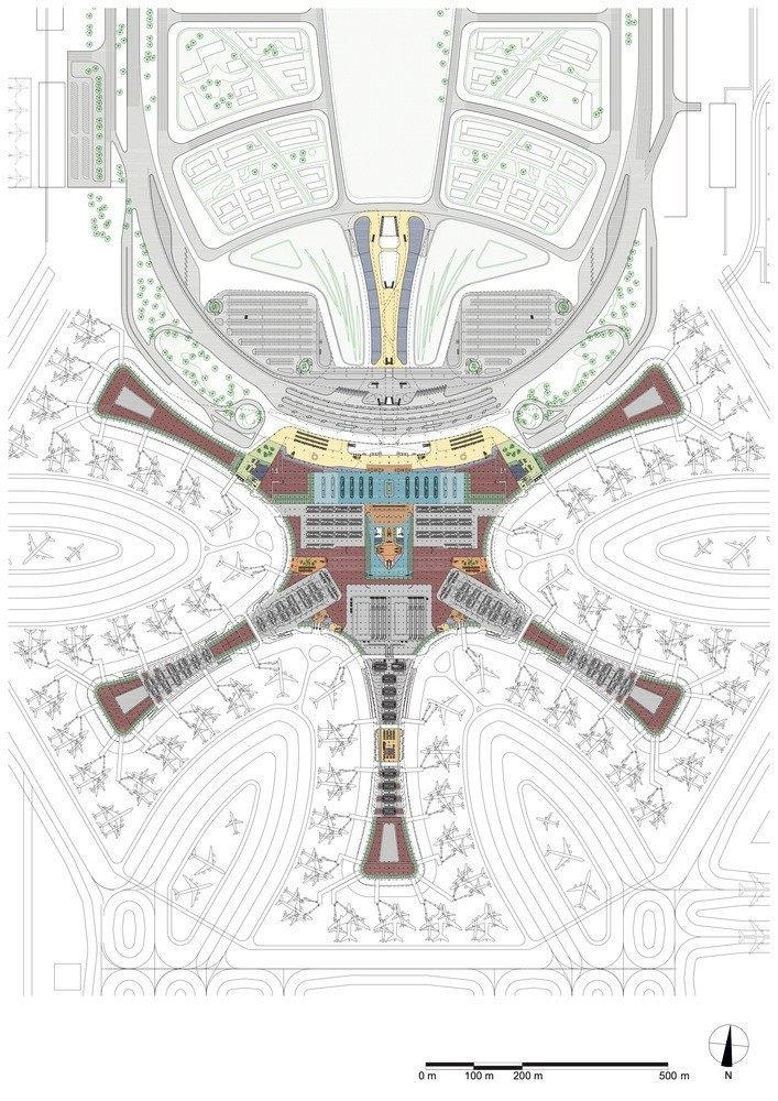 超魔幻的北京大兴国际机场 | 实景图+平面图 | 45P_超魔幻的北京大兴国际机场41.jpg