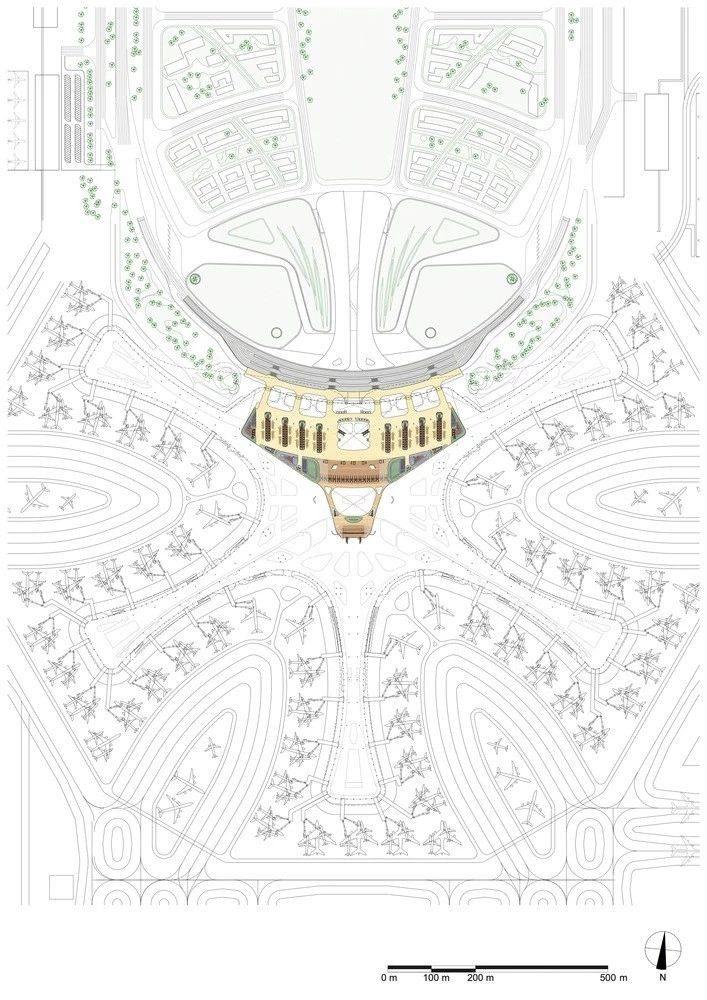 超魔幻的北京大兴国际机场 | 实景图+平面图 | 45P_超魔幻的北京大兴国际机场44.jpg