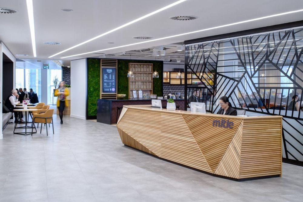 让现代設計感刺激工作创意 | 伦敦Mitie灵活办公空间