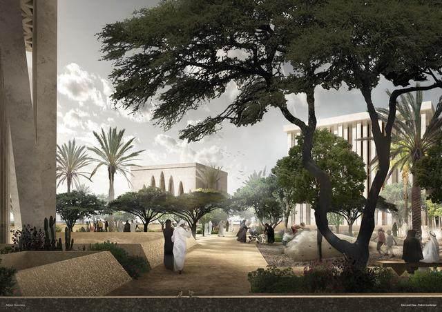 """阿布扎比""""宗教综合体""""設計方案公布,三大宗教集聚一岛-3.jpg"""