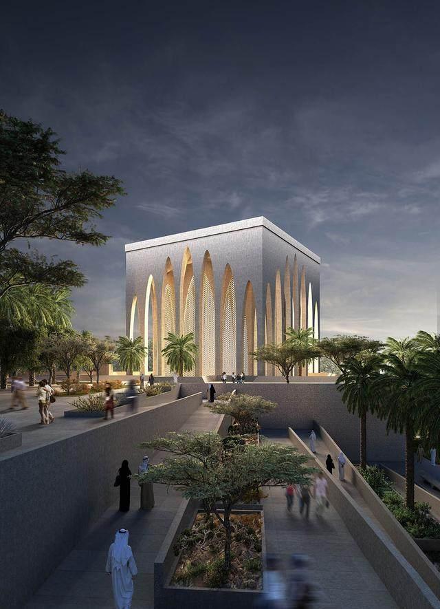 """阿布扎比""""宗教综合体""""設計方案公布,三大宗教集聚一岛-8.jpg"""