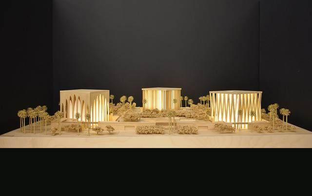 """阿布扎比""""宗教综合体""""設計方案公布,三大宗教集聚一岛-13.jpg"""