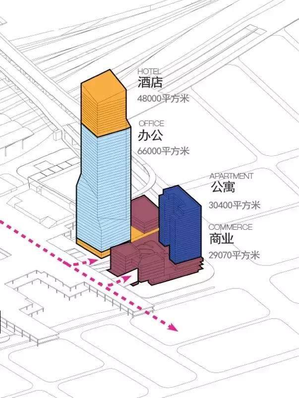 HPP 新作'深圳北站汇德大厦'即将竣工,258米刷新天际线-16.jpg