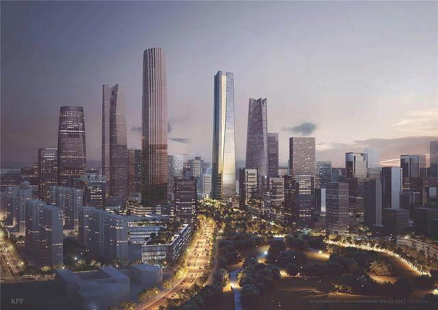 济南平安金融中心設計简析,形态来自泉水喷涌的动态轮廓-2.jpg