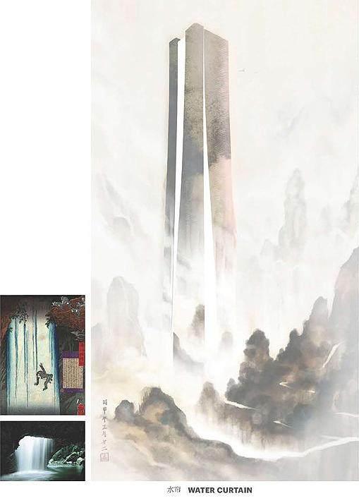 济南平安金融中心設計简析,形态来自泉水喷涌的动态轮廓-7.jpg