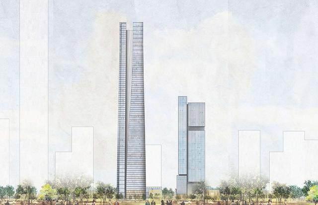 济南平安金融中心設計简析,形态来自泉水喷涌的动态轮廓-9.jpg