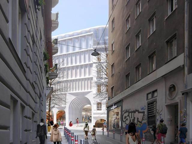 OMA赢得维也纳卡迪威百货公司扩建設計竞赛-3.jpg