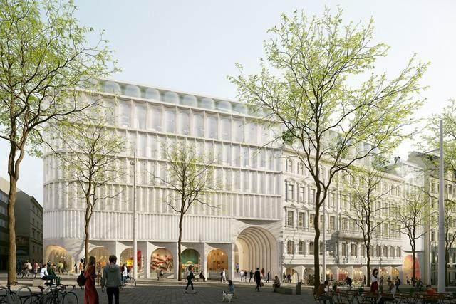 OMA赢得维也纳卡迪威百货公司扩建設計竞赛-2.jpg