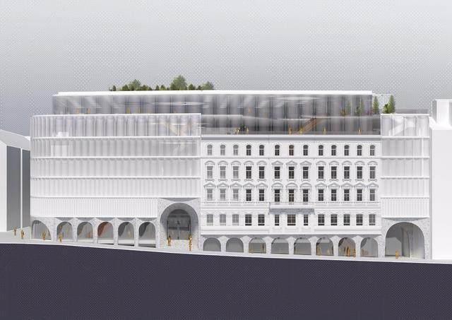 OMA赢得维也纳卡迪威百货公司扩建設計竞赛-8.jpg