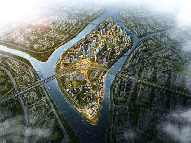 广州大坦沙规划設計方案,重塑广州城西新形象-1.jpg