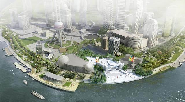 上海文化新地标——浦东美术馆结构封顶,预计2020年竣工-1.jpg