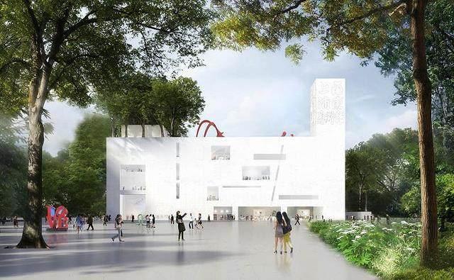 上海文化新地标——浦东美术馆结构封顶,预计2020年竣工-5.jpg