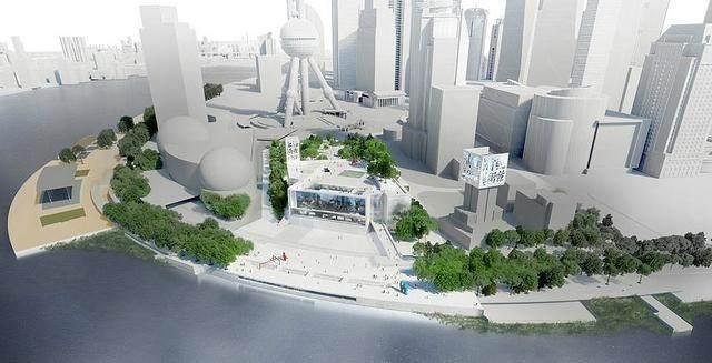 上海文化新地标——浦东美术馆结构封顶,预计2020年竣工-4.jpg