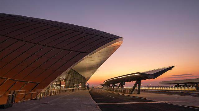 """北京大兴国际机场航站楼卫星厅开建,設計呈现""""一""""字造型-9.jpg"""