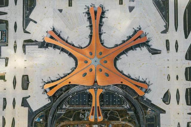 """北京大兴国际机场航站楼卫星厅开建,設計呈现""""一""""字造型-7.jpg"""
