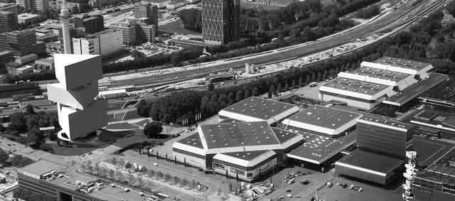 OMA設計的荷兰新酒店即将完工,建築由三个可移动的三角体量组成-5.jpg