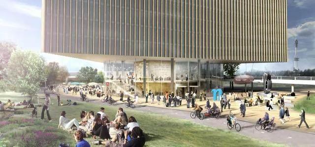 OMA設計的荷兰新酒店即将完工,建築由三个可移动的三角体量组成-10.jpg