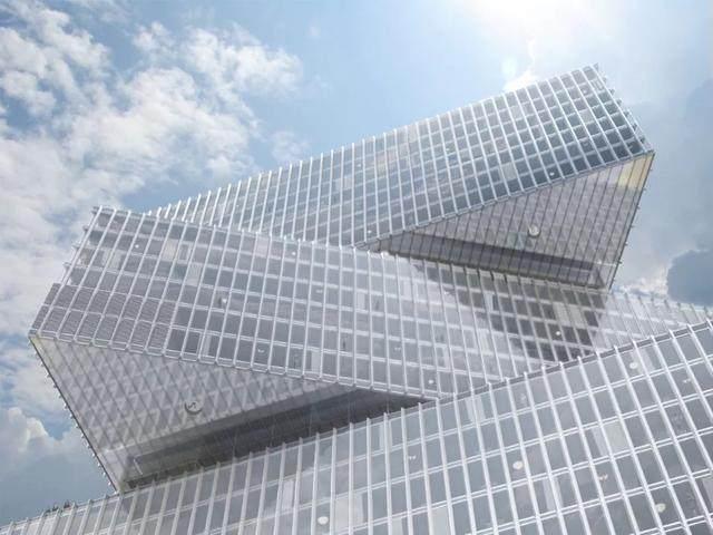 OMA設計的荷兰新酒店即将完工,建築由三个可移动的三角体量组成-9.jpg