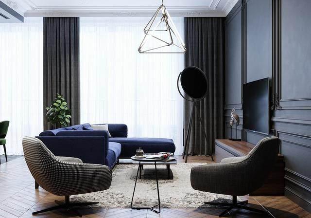 「設計」:高級灰蓝调公寓-oleg tyrnov-5.jpg