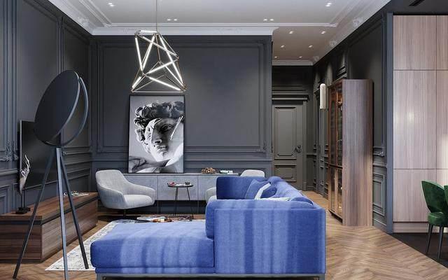 「設計」:高級灰蓝调公寓-oleg tyrnov-9.jpg