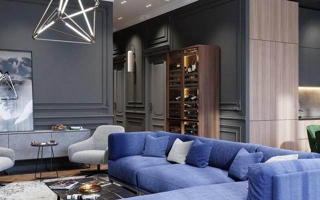 「設計」:高級灰蓝调公寓-oleg tyrnov-12.jpg